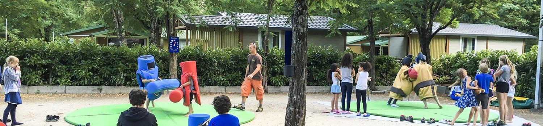 activités au camping le plan d'eau