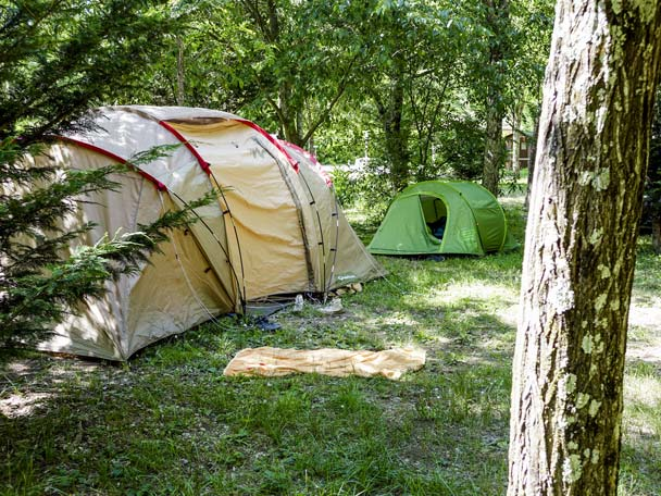 pitches campsite PLan d'Eau