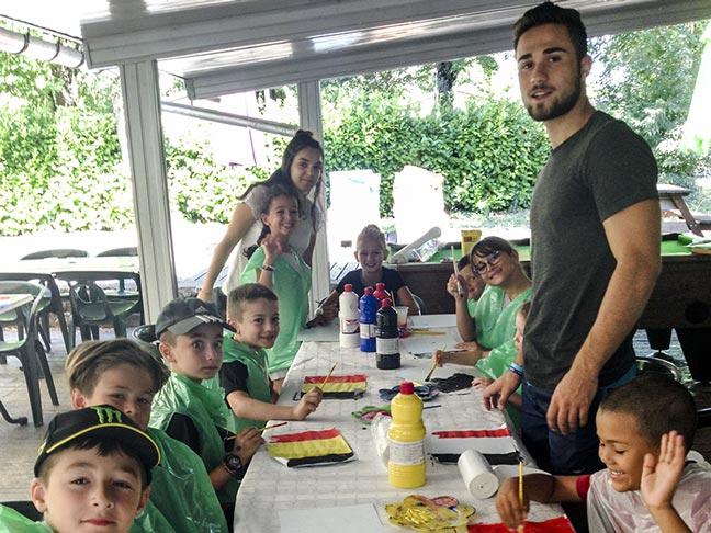 miniclub enfants camping ardèche