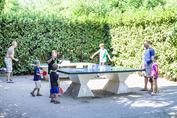 ping pong camping ardèche