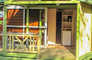 location chalet nemo ardeche