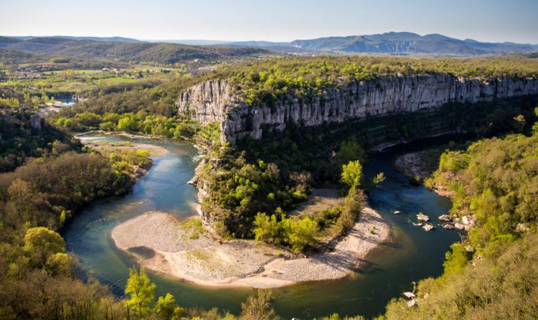 Ardèche-Spaziergang
