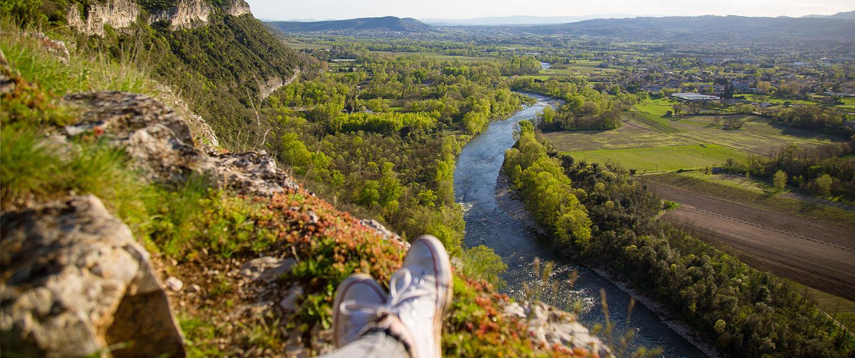 Ardèche-Wanderung
